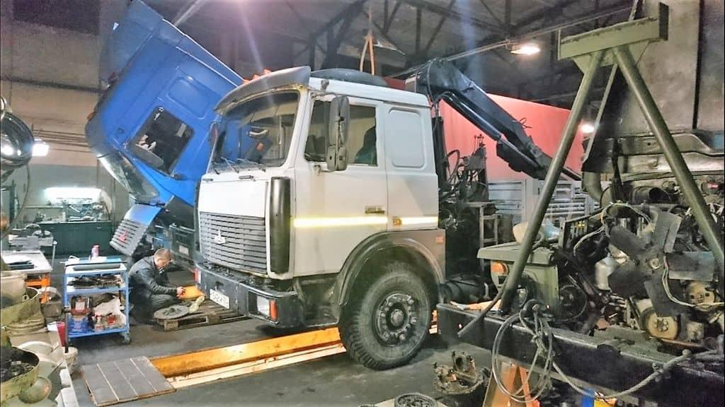 ремонт грузового транспорта в Ростове