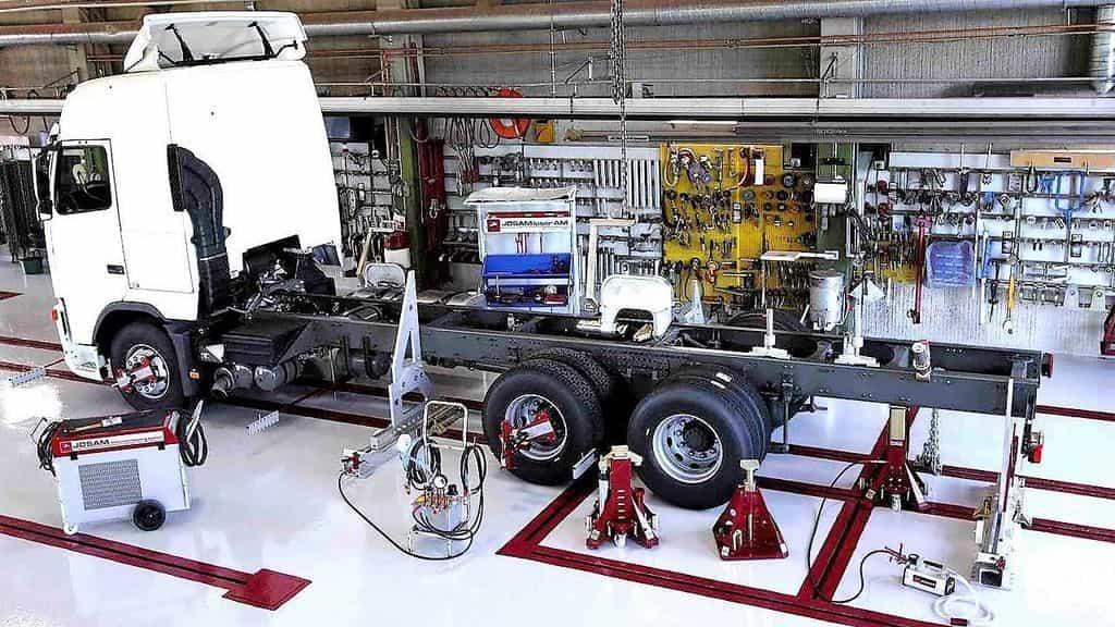 ремонт рамы грузовых машин