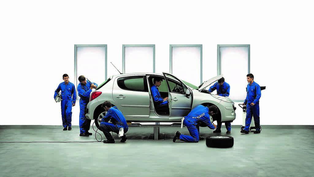 виды ремонта авто