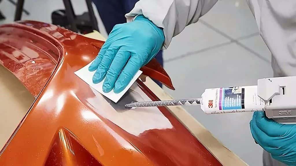 ремонт бампера авто